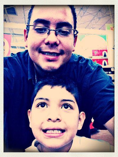 Hace tiempo con mi sobrino!!