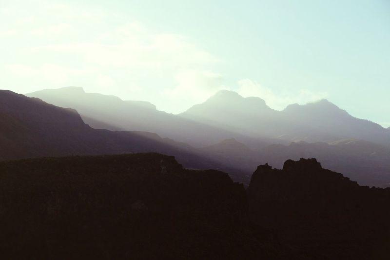 Haze Mountains Mountain Range
