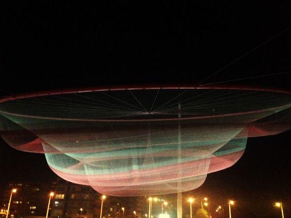 Espectacular Anemona Matosinhos Monumentos  Noche Paseos