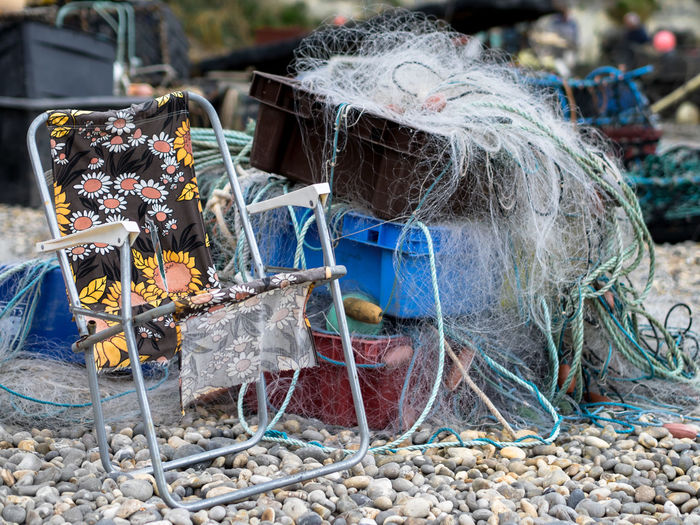Beach Box Broken Chair Deterioration Devon England Fishing Flower Garbage Heap Large Group Of Objects Messy Nets Pebbles Torn Work Market Reviewers' Top Picks