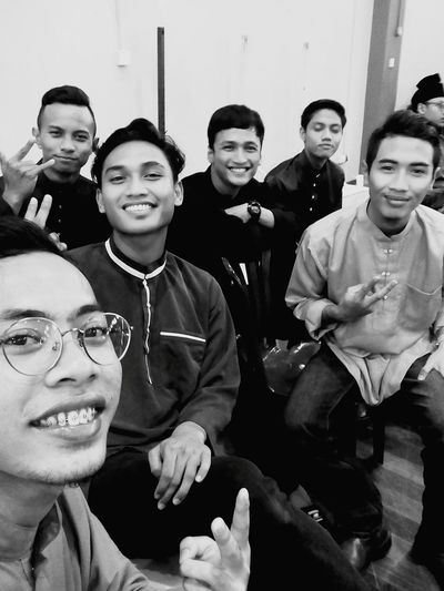 We Laugh Enjoy Stoned Memories That  We Shared Joho  Melaka Selangor Pahang Selamat Hari Raya Peace N Heaven Blackandwhite See Yahh Again Guys.