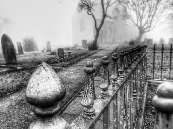 EyeEm Best Shots - Black + White Blackandwhite Fortheloveofblackandwhite HDR Eye4photography  Fog Graveyard Beauty Church Landscape_Collection