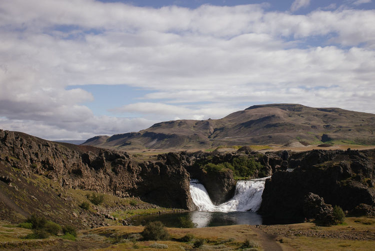 Beauty In Nature Beauty In Nature Day Iceland Iceland_collection Landscape Nature Nature No People Outdoors Scenics Sky Valley Waterfall