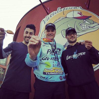Fantastic Promo day! Livingstonlures Bassseminar Bassfishing Bluesprings Vattelapesca Store Livingston Italianbassfishing Bassfishingitaly Italy