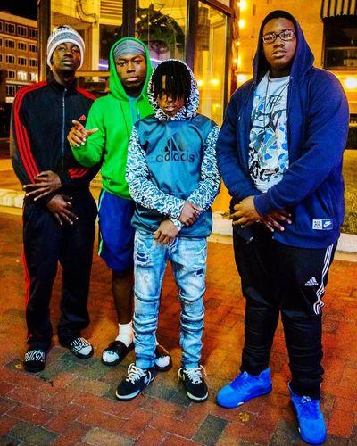 Street Photography Kids Fashion  HipHop Gang