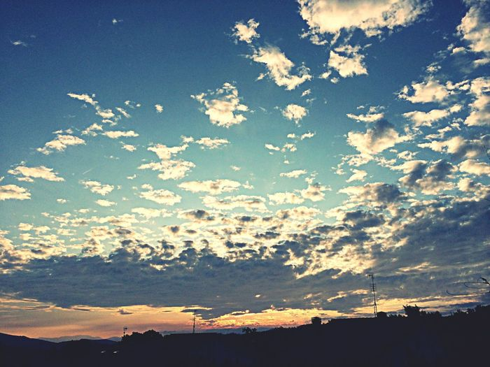 Sunset Clouds And Sky Clouds View