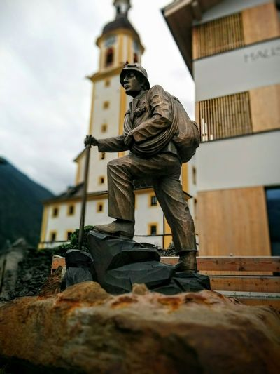 Statue No People Sculpture City Architecture Outdoors Representing Day Church Kirche Neustift Neustift Im Stubaital Österreich Tirol  Austria Tirol From My View Stubaital