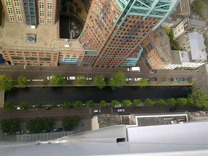 View from Hoftoren 30th floor Hoftoren (ocw)