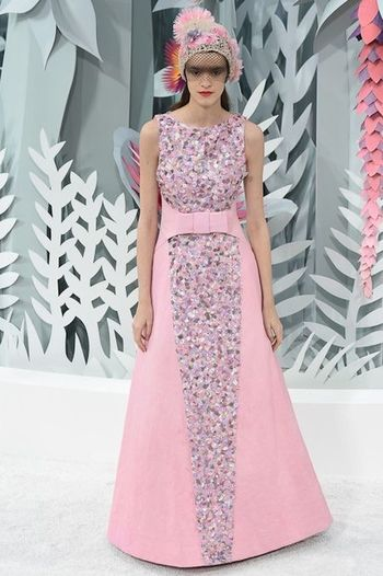DonneVincenti Couture Chanel Spring2015 Pink Repost