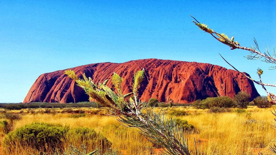 Uluru Ayers Rock Australia & Travel Australia Northern Territory Mountain Nature Is Amazing Color Of Life Connected By Travel