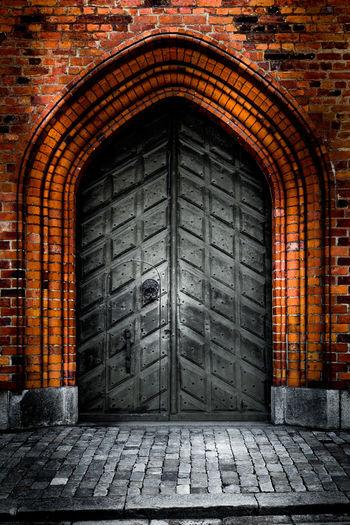 Old Door Arch