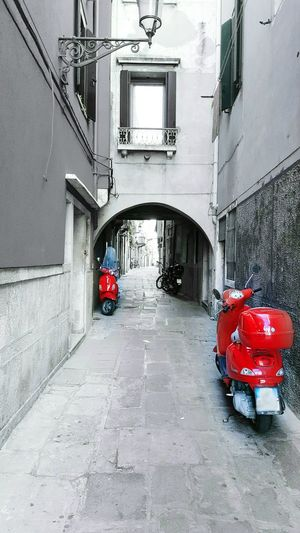Architecture Built Structure The Way Forward Transportation No People Building Exterior Outdoors City Scooters Scooterlife Red Color