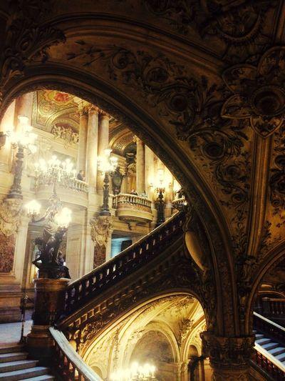 Paris France Palais Garnier Opera Garnier