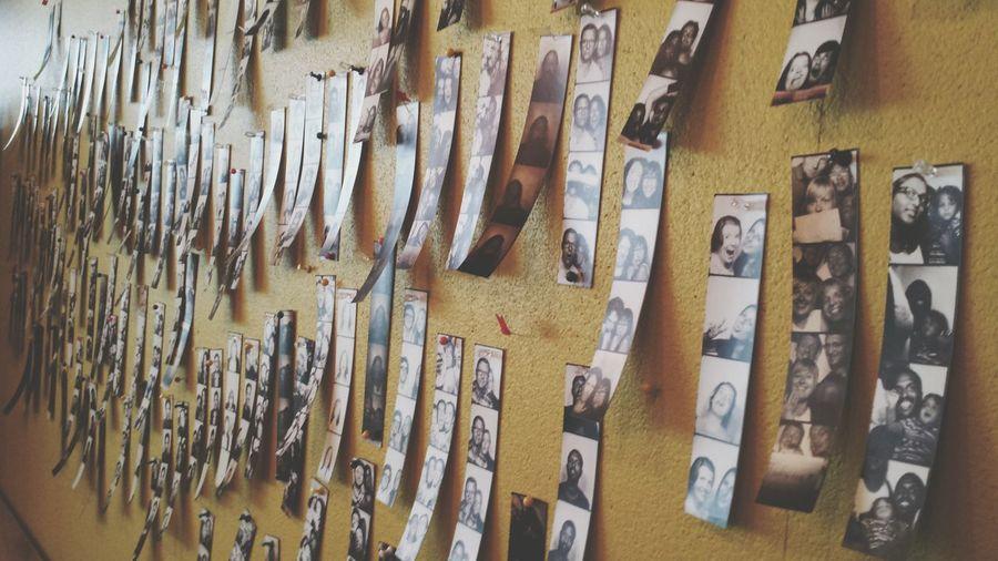 Photoautomat wall
