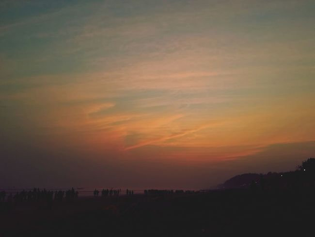 Sunset Dramatic Sky Weather No People Beauty In Nature Scenics Tranquility