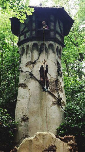 Efteling ,the Netherlands Rapunzel's Tower Themapark
