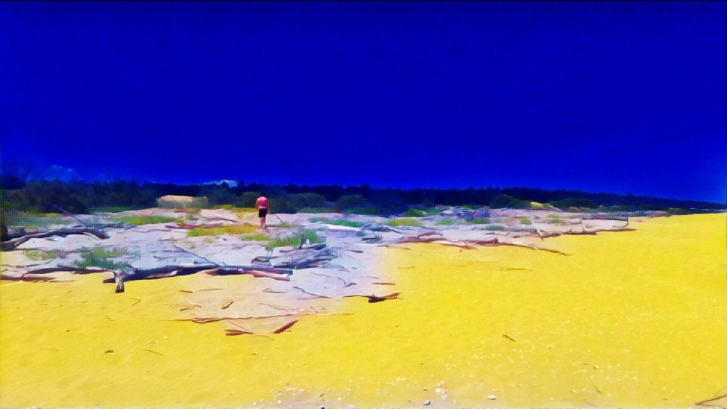 Yellow&blue Yellow&bluecollection Alone But Not Lonely Exploring Bassona Beach
