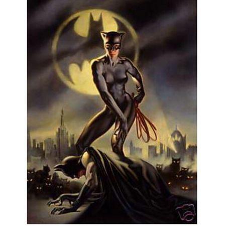 Catwoman Mulhergato Batman