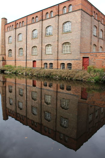 City Hidden Gems  Nottingham Towpath Photography Transport Transportation Architecture Building Exterior Built Structure Canals Canals And Waterways Cityscapes Day Outdoor Photography Outdoors Regeneration Sky Towpath Warehouse Waterways