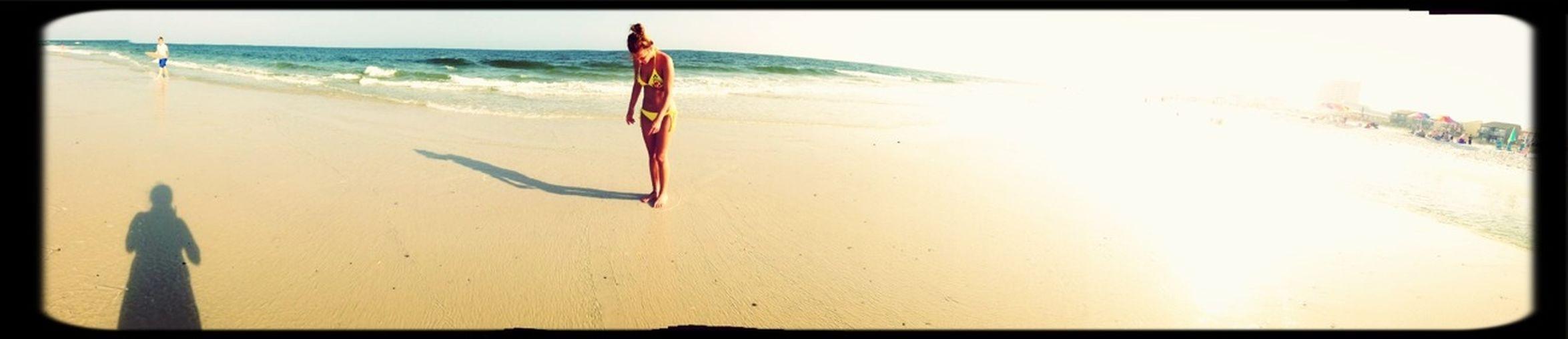 On The Sand Bar!