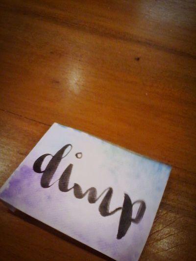 thanks bestie I already miz ya Beshy Calligrahpy Handwriting  Christmas Party Manila Phillipines Robinsoms Manila