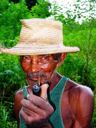 Local farmer in Haiti DeLeonStrong