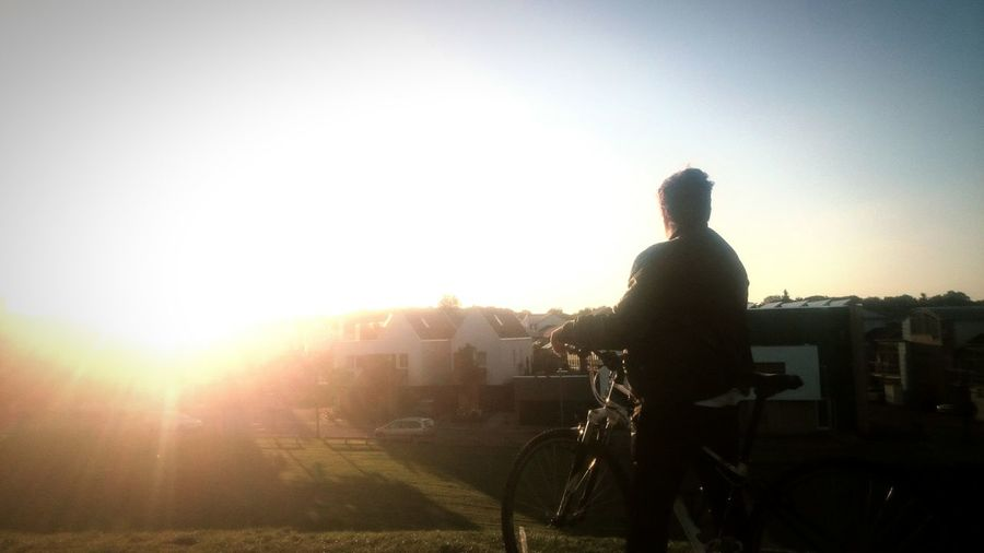 view from the hills. Enjoying The Sun Summer Views Hilltop