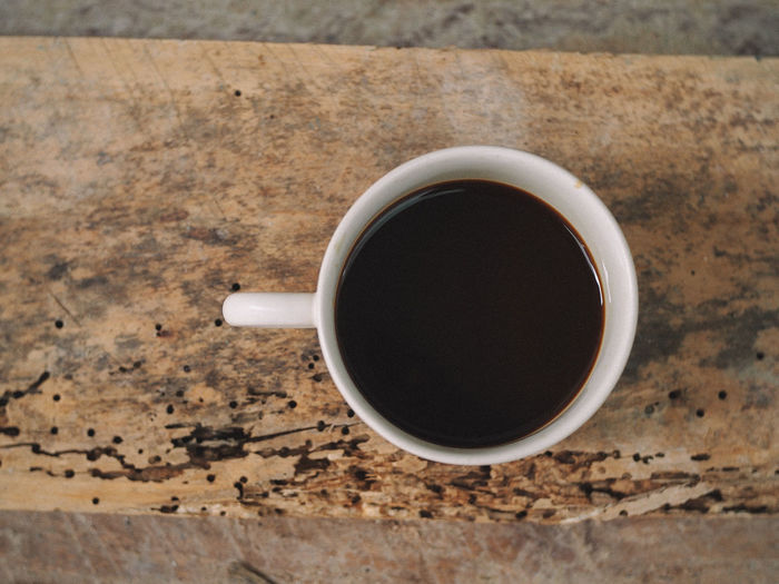 Drink Food And Drink Cup Refreshment Mug Coffee Directly Above Coffee - Drink Coffee Cup Freshness Table Black Coffee Indoors  Food Close-up No People Still Life High Angle View Wood - Material Hot Drink Black Tea Non-alcoholic Beverage Crockery Tea Cup Caffeine