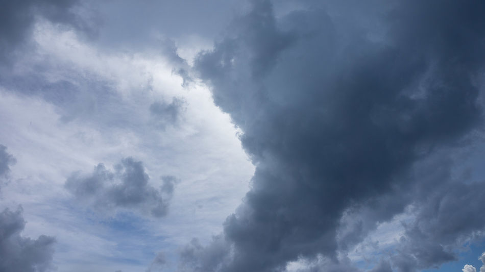 Backgrounds Balance Beauty In Nature Blue Break Cloud - Sky Cloud Front Cloudscape Copy Space Day Front Grey Low Angle View Moody Moving Nature No People Outdoors Scenics Sky Sky Only Thunderstorm Tranquility Weather Let's Go. Together.
