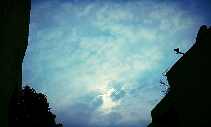 Winter Afternoon Sun Sky & Clouds