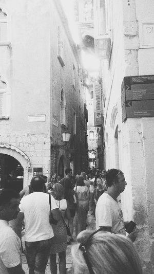Split Fortress Dioklecijanovapalaca Happy People History Historical Building Love Traveling