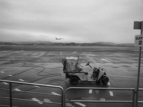 Holiday POV Plane At The Airport Airport Black And White Collection  My Monochrome World Simple Beauty Monochrome_life Eyeem Monochrome Looking At Things Rainy Days