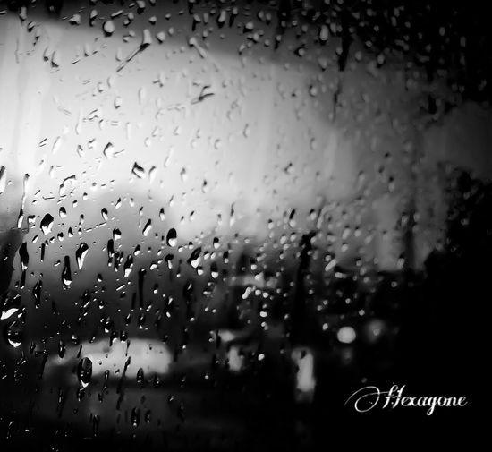 A rainy day... Just a rainy day Rain Dark Classic