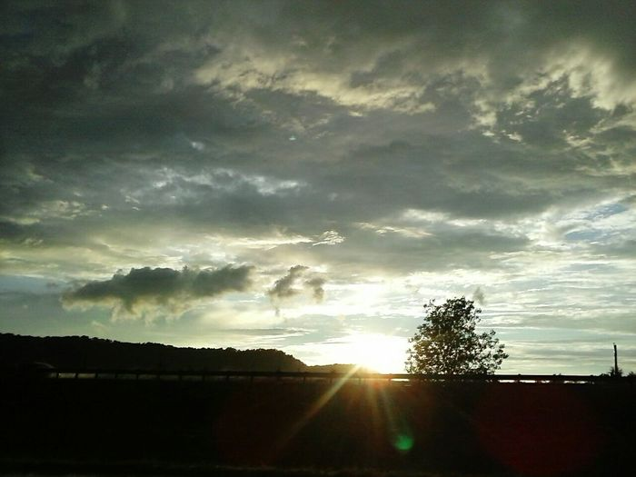 Sunset Silhouettes Traveling Sunset_collection Adventure Club After The Rain Shadows And Light Kentucky Interstate USA