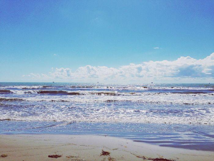Enjoying The Sun Sea Blue Storm