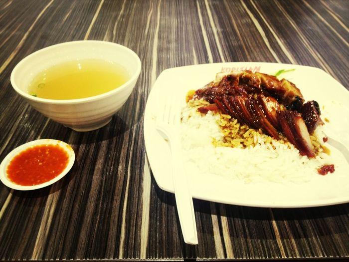Char Siew Roasted Pork Rice