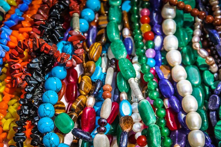 closeup of jewelry in India India Jewelry