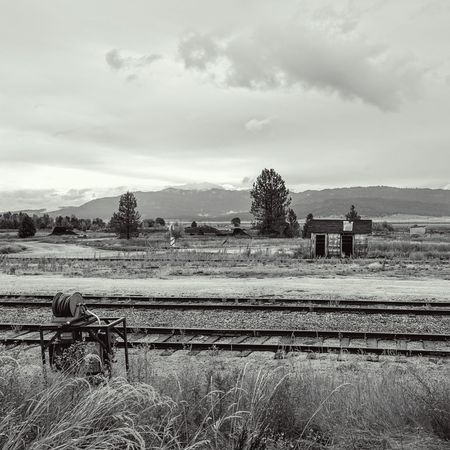 Cascade, Idaho old railroad yard Hanging Out Taking Photos Check This Out Enjoying Life Nice Views Nature On Your Doorstep Travelling On The Road Take A Break Miles Away