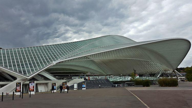 Gare de liege Gare Liège-guillemins Architecture