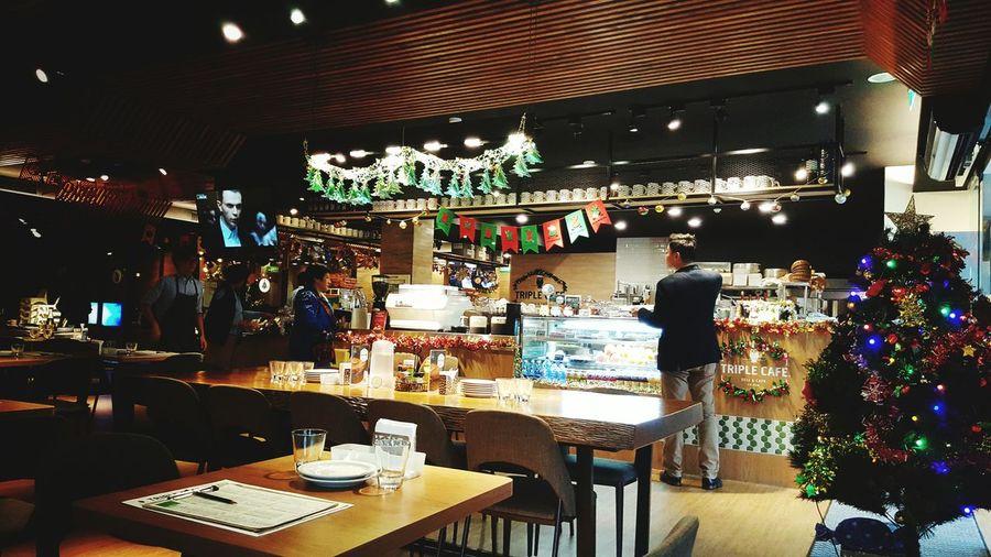 Cafe XmasIsComing Viewfromthebehind Neihu Dahu Park