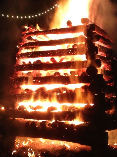 Fiaccola Fuoco Fire Abbadia San Salvatore First Eyeem Photo