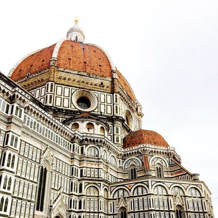 Italy Florence Firenze Cathedral Duomo Santa Maria Del Fiore Architecture Dome Cupola Sightseeing Marble