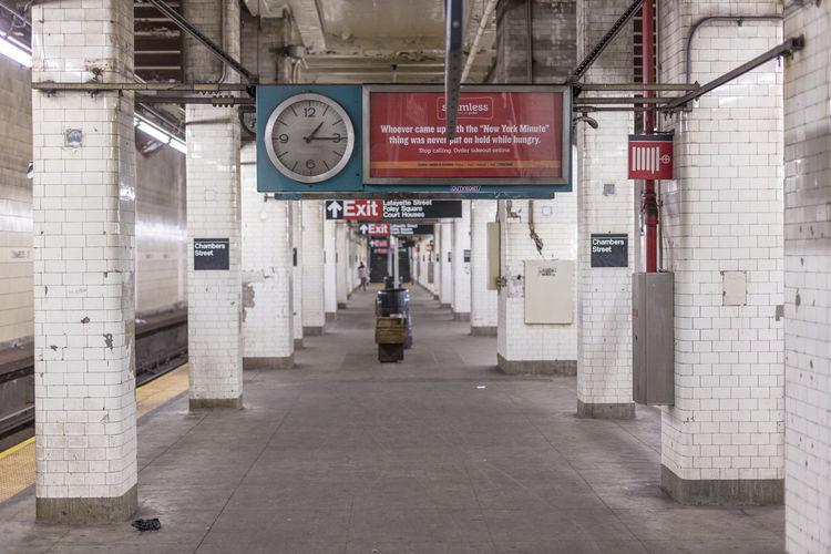 Bowery Chambers Street City Metro New York New York City New York Subway Subway Train Underground Underground Station  Urban