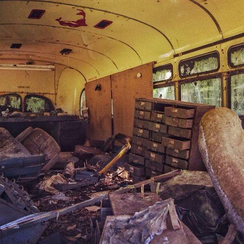 Vintage Eye4photography  The Press - Trash EyeEm Bus