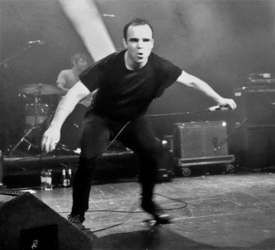 Future Islands @ O2 ABC - Glasgow 04/11/2014 FutureIslands Arts Culture And Entertainment Casual Clothing Front View Full Length Incidental People Leisure Activity Lifestyles Looking At Camera Men Motion Music One Person Performance Portrait Real People Sport Young Adult Young Men