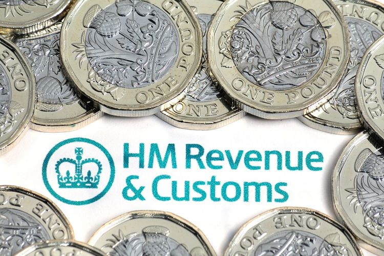Business Close-up Currency Finances Hm Revenue & Customs HMRC New Poind Coins No People Pounds Self Assessment Small Business Sterling Taxes And Customs Taxi