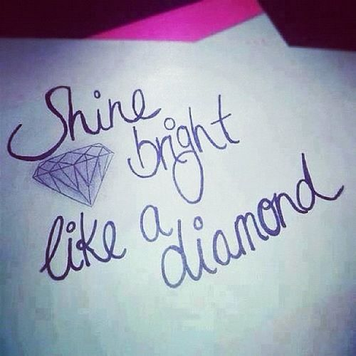 Shinebrightlikeadiamondinthesky Rihanna