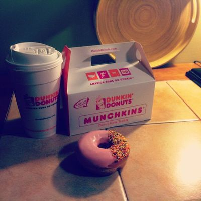 Pumpkin spice, strawberry frosted and of course pumpkin munchkins for later. Love fall :)