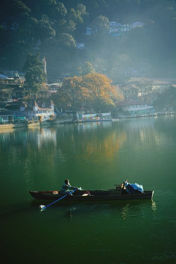 boating Boat Boating EyeEm Best Shots EyeEm Nature Lover EyeEm Landscape Photography Uttarakhand ASIA India Yacht Nainital EyeEm Selects Nature Tourism Nikon Heaven Rowing Water Nautical Vessel Sculling Oar Gondola - Traditional Boat Tree Lake Men Scull Paddling Wooden Raft Sailing
