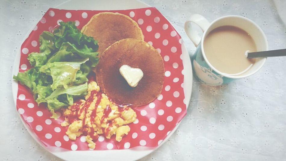らしくない朝食